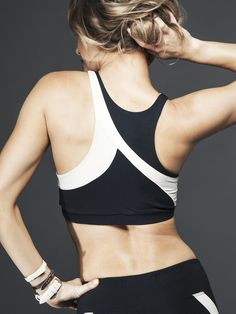 If you can't stand to come in second place, this bra has your name written all over it. With an asymmetric design that makes you look like you're moving at light speed (even when you're standing still) and a full-support and high-performance design, this bra from Solow will be your new sidekick when you train to finish your next race in first place.