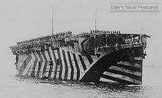WWI Dazzle Camouflage Camouflage was used in the war as a method for increasing time it took for eyes to focus on target. It had not to make the target become invisible.