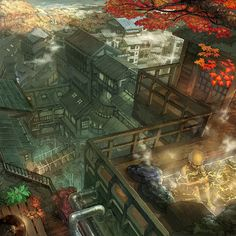 The Amazingly Intricate Animated Landscapes of Munashichi no.13