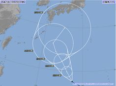 台風27号 2013年10月20日09時 拡大