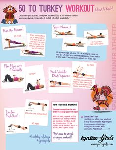 50 Before Turkey Workout (earn your turkey and your shower!!!) | IgniteGirls® Fitness