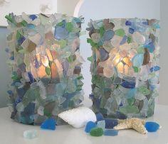 pinterest sea glass crafts   sea glass