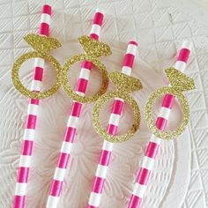 Hey, I found this really awesome Etsy listing at https://www.etsy.com/listing/262174318/party-straws-kate-spade-themed-party