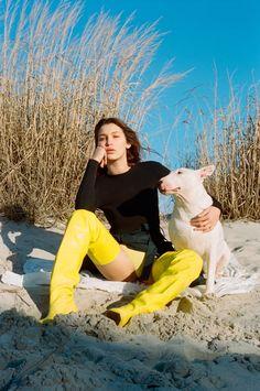 bella hadid and sonya gorelova by brianna capozzi for pop spring / summer 2015