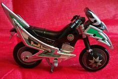 Power Rangers Green Samurai Tsunami Ninja Storm Cycle Motorcycle Bandai