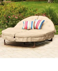 Liegeinsel beach lounge  Have to have it. Domus Ventures Luxor Sunlounger Chaise Lounge ...