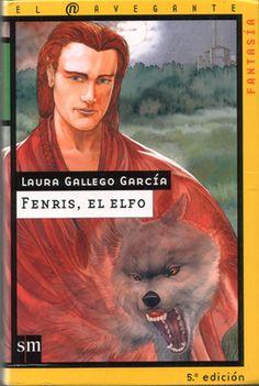 """""""Fenris, el elfo"""" de Laura Gallego. Ficha elaborada por Daniel Lancho."""