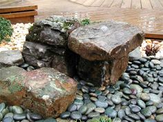 Rocks+Gardens+Water+Fountain | ... Library - All you need to know about successful water gardening