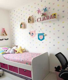 Boy And Girl Shared Bedroom, Pink Bedroom For Girls, Girl Room, Teen Room Decor, Home Decor Bedroom, Pastel Room, Girl Bedroom Designs, Stylish Bedroom, Home Room Design
