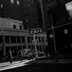 Café Fanelli, Prince Street, New York City