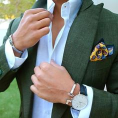 WEBSTA @ menwithstyle - Green combination what do you think by @_sanch