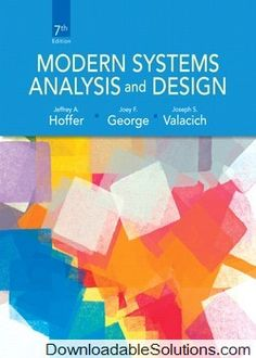 Digitalsolutions downloadablesol on pinterest solution manual for modern systems analysis and design 7e jeffrey a hoffer fandeluxe Gallery