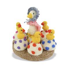 Pasen haken: eierwarmer ganzen  Haakpret