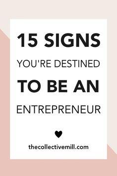 15 Signs You're Dest