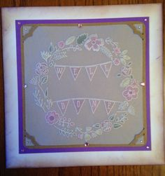 Groovi plate Clarity Card, Barbara Gray, Parchment Cards, Card Designs, Craft Patterns, Hobbies And Crafts, I Card, Cardmaking, Card Ideas