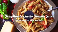 At the height of tomato season, there's nothing better than fresh tomato sauce. You have a lot of types of tomatoes to choose from, but try cherry tomatoes for the best flavor and the least effort. Here's why.