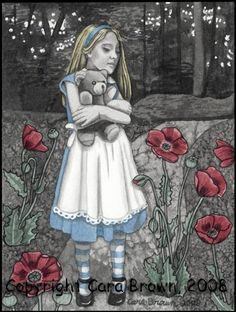 Alice in Wonderland by Cara Brown (2008) - (I chose this because when I was a child, this movie sorta freaked me out and because of all the strange happenings, but now I kinda think of this movie as a representation of imagination)
