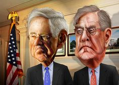Make No Mistake: The Koch Brothers Are Helping Donald Trump |   They may not want the GOP standard-bearer's dirt on their hands, but their minions are cleaning up behind him.