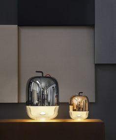 Blown glass table lamp - Prandina