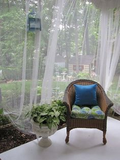 ComfyDwelling.com » Blog Archive » 44 Mosquito Net Decor Ideas For Outdoors & 43 best Mosquito Net Decor Ideas images on Pinterest | Outdoor decor ...