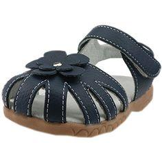 Orgrimmar Girls Genuine Leather Solid Flower Sandals (Toddler, Little Kid) (Toddler 5, Blue) Orgrimmar http://www.amazon.com/dp/B00VFTDBN8/ref=cm_sw_r_pi_dp_Dwtdxb0GMK26B