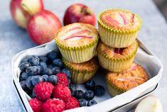 Dette kan du bruke høstens epler til Mini Cupcakes, Muffin, Breakfast, Desserts, Food, Morning Coffee, Tailgate Desserts, Deserts, Essen
