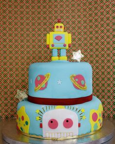 Awesome Robot Cake