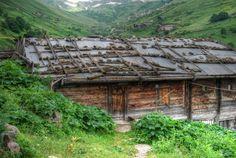 Yayla house of Northeast Turkey
