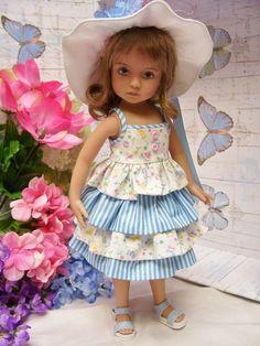 PDF Pattern for 13 Effner Little Darling Wardrobe от sewsallday American Girl Outfits, American Girl Diy, Girl Doll Clothes, Doll Clothes Patterns, Doll Patterns, Clothing Patterns, Dress Patterns, Dolly Fashion, Red Fashion