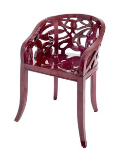 Vine Chair with side panels - Dering Hall (=)