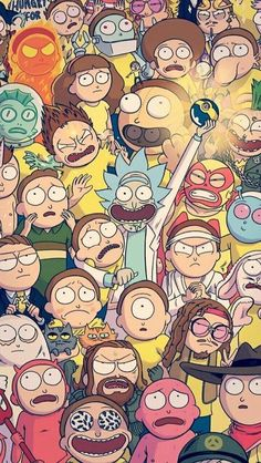 Hd Wallpaper Rick And Morty Cartoon Iphone Rick Morty intended for Rick and Morty Cartoon Wallpaper - Find your Favorite Wallpapers! Cartoon Wallpaper, Sf Wallpaper, Iphone Wallpaper, Wallpaper Spongebob, Screen Wallpaper, Ricky Y Morty, Rick And Morty Poster, Nerdy, Graffiti