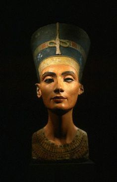 NOVA | Missing Tombs of the Pharaohs. The famous limestone bust of Nefertiti, found in the workshop of an ancient sculptor and now in the Egyptian Museum in Berlin, is an icon of Amarna art.	 Photo credit: © Ruggero Vanni/CORBIS