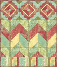 free PDF quilt pattern by Studio E http://www.studioefabrics.com/documents/LayeredNature_Quilt.pdf