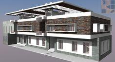Proposed Residential Design for Mr.Balaji & brothers - Injambakkam - Chennai www.chennaiarchitectsdks.com Architects in chennai, Interior designers in chennai