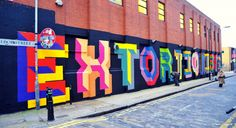 Ben Flynn a.k.a Ben Eine was born in 1970 in London. In 1984, he began painting on the trains and walls of his city. Then he stopped graffiti, following the arrest and detention of two of his friends. He then started painting exclusively in the street. His made his remarkably colorful letters on storefronts and on the walls of London, Los Angeles, Mexico City, Miami, Paris, Tokyo, Dublin, Stockholm... He also became an excellent silk-screen printer, which led him to work with many artists…