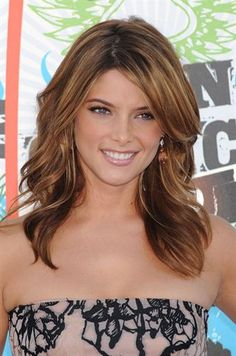 @Amanda Lontine Looking up Hair ideas for you! Ashley Greene color and style