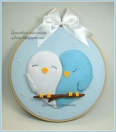 quadrinho bastidor, casal de passarinhos