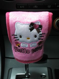 Hello Kitty Car Set Automatic Gear Stick Cover D Barbie Doll House, Barbie Dolls, Hello Kitty Car, Pet Guinea Pigs, Hello Kitty Collection, Love To Meet, Car Set, Love Bugs, My Dream Car