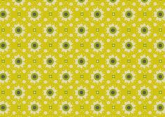 Fabric sold by the meter Mini Labo - Nordic yellow