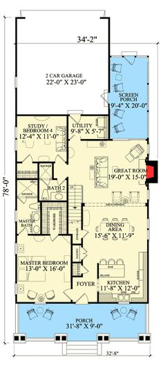 48 Sq Ft House Plans First Floor Plan Image Of Hampton48 Amazing First Floor Master Bedroom Floor Plans Concept Design
