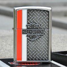 Zippo Harley Davidson Street Chrome With Emblem Lighter