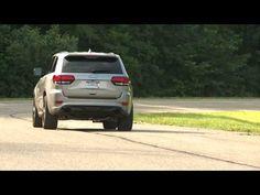 2017 Jeep Grand Cherokee SRT Driving Video | AutoMotoTV - YouTube