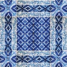 "Messina italian ceramic tiles - Wall tile mural, floor tile panel - ""Overseas"""