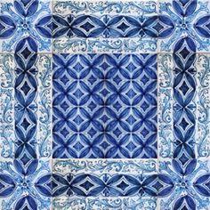 """Messina italian ceramic tiles - Wall tile mural, floor tile panel - """"Overseas"""""""