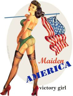Pin-up  - Maiden America by Victory Girl