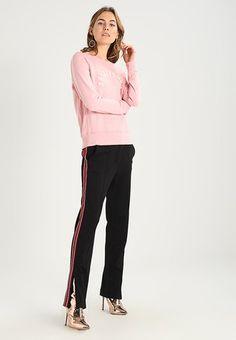 SUNFADE TECH LOGO CREW  - Bluza - dark pink