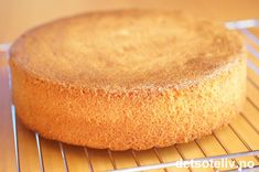 """Her har du en enkel og grei grunnoppskrift på et standard """"Sukkerbrød"""", som passer kjempegodt til alle slags bløtkaker."""