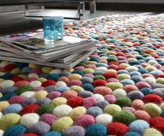 Pebble Wool Carpet.