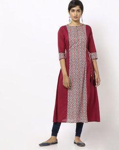 Patiala Pants, A Line Kurta, Kurti Patterns, Floral Print Maxi Dress, Kurtis, Jaipur, Chevron, Duster Coat, Floral Prints