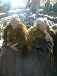 To gamle damer fra den nye Conan-filmen, tror jeg.